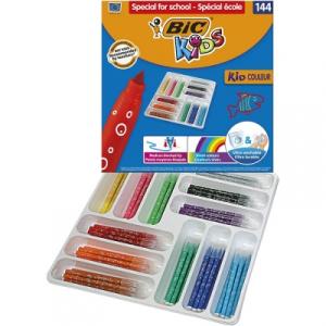 BIC Carioci Kids Kid Couleur Ultralavabile 144 buc/set 887837