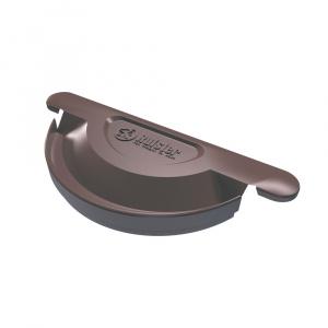 Rufster Capac jgheab Q150 brun 8019 (universal)