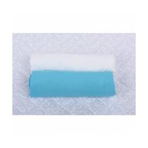 BabyNeeds Cearceaf  140x 70 cm alb+bleu