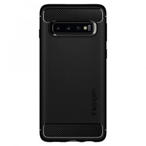 Spigen Carcasa Samsung Galaxy S10 G973 Rugged Armor Black