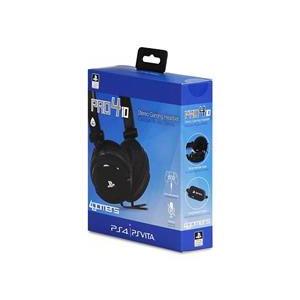 4Gamers Casti Gaming Pro410 Stereo Black Ps4