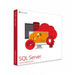 Microsoft SQL Server 2016 Enterprise (2 cores), 7JQ-01013 certificat electronic