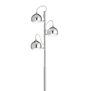 Ideal Lux Lampadar  cu 3 Globuri cromate Discovery PT3