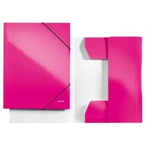 Leitz Mapa cu elastic WOW  roz metalizat E39820023