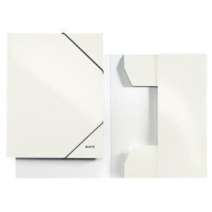 Leitz Mapa cu elastic WOW  alb metalizat E39820001
