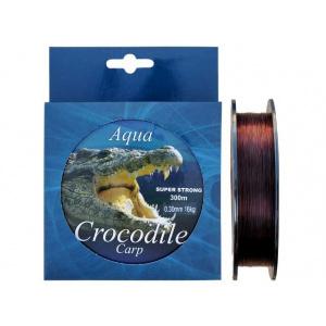Baracuda Nylon/fir monolofilament Aqua Crocodile Carp 300 m, maro