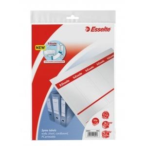 Esselte Etichete printabile pentru biblioraft 75 mm  50/set E20820