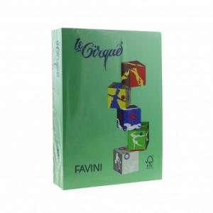 Favini Carton color A4, 160g/mp 208, verde inchis