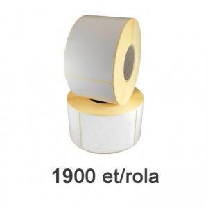ZINTA Role etichete termice 110x99mm, 1900 et./rola - 110X99X1900-TH