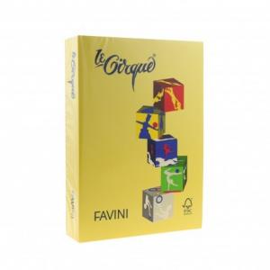 Favini Hartie colorata A3, 80g/mp 200, galben inchis