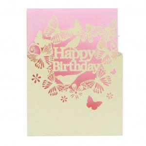 Alljoy Design Felicitare - Pink Happy Birthday 0609728290429