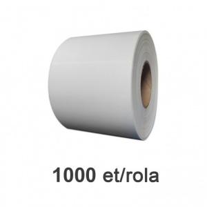 ZINTA Role etichete de plastic albe 102x148mm, 1000 et./rola - 102X148X1000-PE