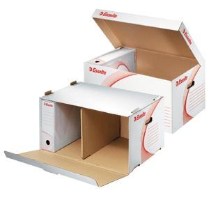 Esselte Container de arhivare deschis in sus albe E128900