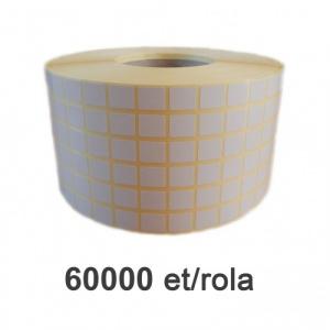 ZINTA Role etichete semilucioase 13x15mm, 60.000 et./rola - 13X15X60000-SGP-6R