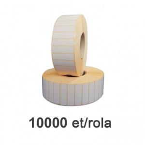 ZINTA Role etichete semilucioase 140x23, 10.000 et./rola - 140X23X10000-SGP