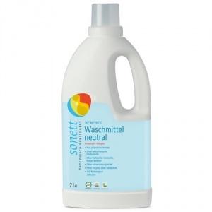 Sonett Detergent lichid de rufe color si albe Sensitiv, fara parfum 2L