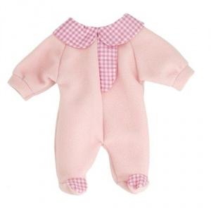 Miniland Pijama roz pentru papusi 38-42 cm