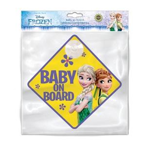 Seven Semn de avertizare Baby on Board Frozen SV9611