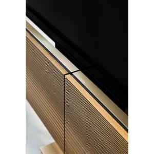 Bang and Olufsen Beovision Harmony 65 floorstand + Sound Center Bronze Tone/Walnut