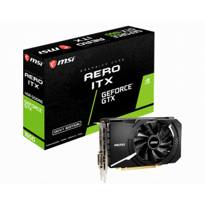 MSI GeForce GTX 1650 D6 AERO ITX OCV1 4GB GDDR6 128 bit