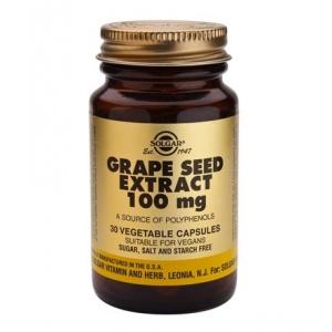 Solgar Grape Seed Extract 100mg /30Caps