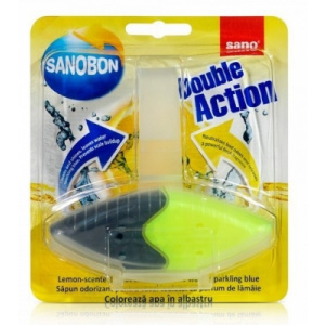 Sano Odorizant WC Bon Blue Double Action Lemon 55 gr 991587