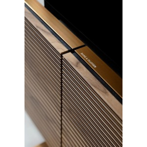 Bang and Olufsen Beovision Harmony 77 wall + Sound Center Brass Tone/Smoked Oak
