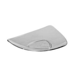 Martellato Farfuriute Triangle Ø 9 x H 1.5 cm, Plastic Transparent, Set 100 Buc