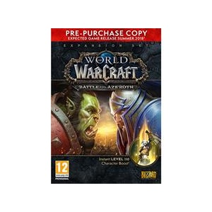 Blizzard World Of Warcraft Battle For Azeroth Pc (Pre-Purchase Box)