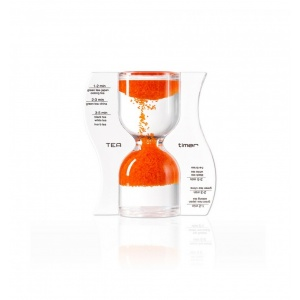 Paradox Clepsidra Tea Timer portocalie