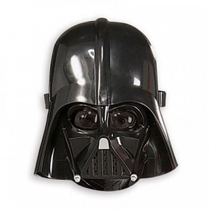 STAR WARS Masca pentru copii Darth Vader, 5 ani+, Negru