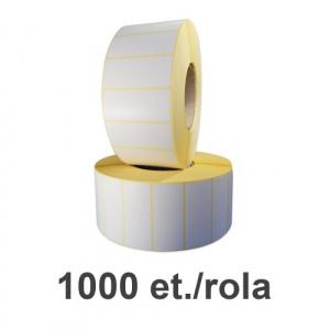 ZINTA Role etichete termice 70x35mm, 1000 et./rola - 70X35X1000-TH