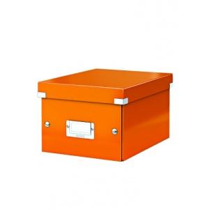 Leitz Cutie arhivare 230 x 130 x 230 mm, Click & Store - portocaliu 60430044