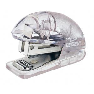 Rapid Mini-capsator plastic Baby Ray F4 albastru translucid