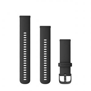 Garmin Quick Release 22 curea silicon neagra Vivoactive 4 010-12932-21