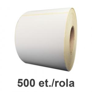 ZINTA Role etichete semilucioase 95x195mm, 500 et./rola - 95X195X500-SGP