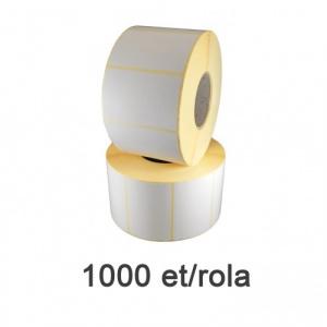 ZINTA Role etichete semilucioase 64x48mm, 1000 et./rola - 64X48X1000-SGP