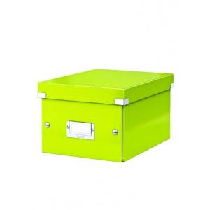 Leitz Cutie arhivare 230 x 130 x 230 mm, Click & Store - verde 60430064
