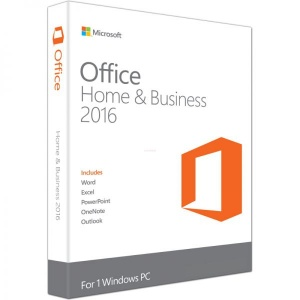 Microsoft Office Home and Business 2016, 32/64bit,  Engleza, FPP/Medialess T5D-02374