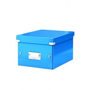 Leitz Cutie arhivare 230 x 130 x 230 mm, Click & Store - albastru 60430036