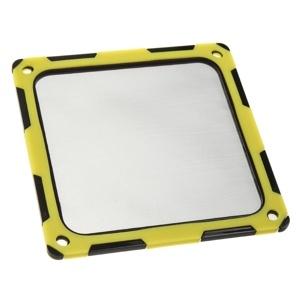 SilverStone filtru praf 120mm rama magnetica silicon Black/Yellow (SST-FF124BY)