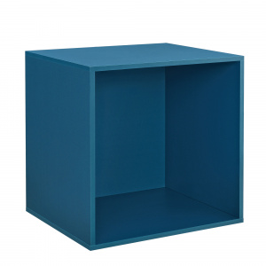 [en.casa] Dulap design combinat – sistem rafturi de perete - 45x45x40 cm - turcoaz