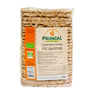 Primeal Turtite Bio subtiri de orez cu Quinoa 130g