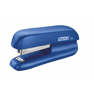 Rapid Mini-capsator plastic F5, 10 coli - albastru