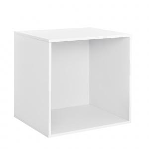 [en.casa] Dulap design combinat – sistem rafturi de perete - 45x45x40 cm - alb