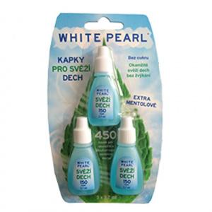 VitalCare Picături pentru o respiratie proaspataWhite Pearl 3 x 3,7 ml