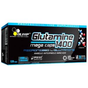 Olimp Sport Nutrition Glutamine 1400 Mega Caps, 120 capsule