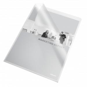 Esselte Mapa L pentru documente A4, 115 microni, 10buc/set - transparent