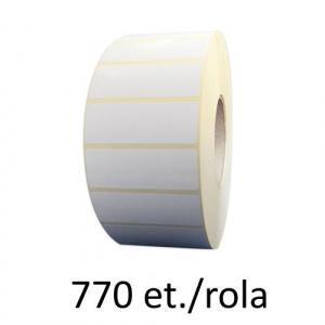 ZINTA Role etichete semilucioase 80x50mm, 770 et./rola - 80X50X770-SGP