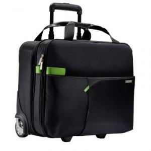 Leitz Smart Traveller cu rotile - negru L-60590095